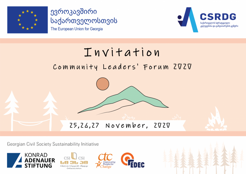 Community Leaders Forum 2020: Join Now