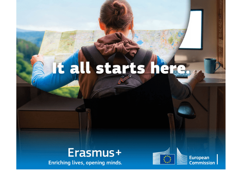 The first annual work programme of Erasmus+ 2021-2027 has been adopted.