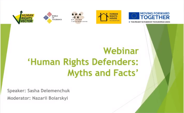 Human Rights Defenders: Myths and Facts