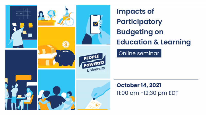 Impacts of Participatory Budgeting on Education & Learning