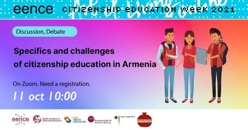 EENCE CE week has started! Day 1 - The Republic of Armenia
